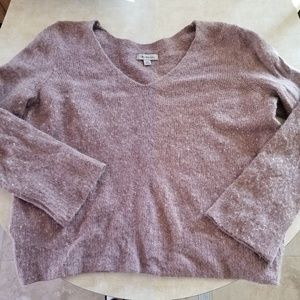 Pink soft knit sweater